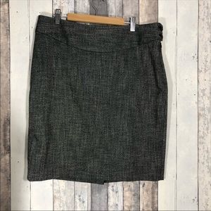 The Limited Tweed Pattern Pencil Skirt Size 12